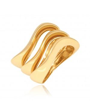 Pierścionek z zółtego złota...