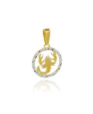 Zawieszka złota - zodiak...
