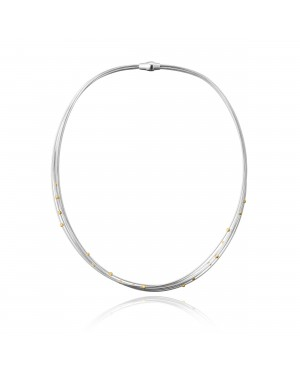Naszyjnik srebrny - kolia