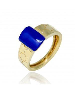 Pierścionek Złoty Lapis Lazuli